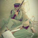 Representación guerra civil España Belchite