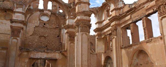 Un legado religioso de apreciable interes artistico entre las ruinas del Pueblo Viejo
