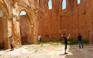 Un viaje al pasado por el patrimonio arquitectonico de Belchite