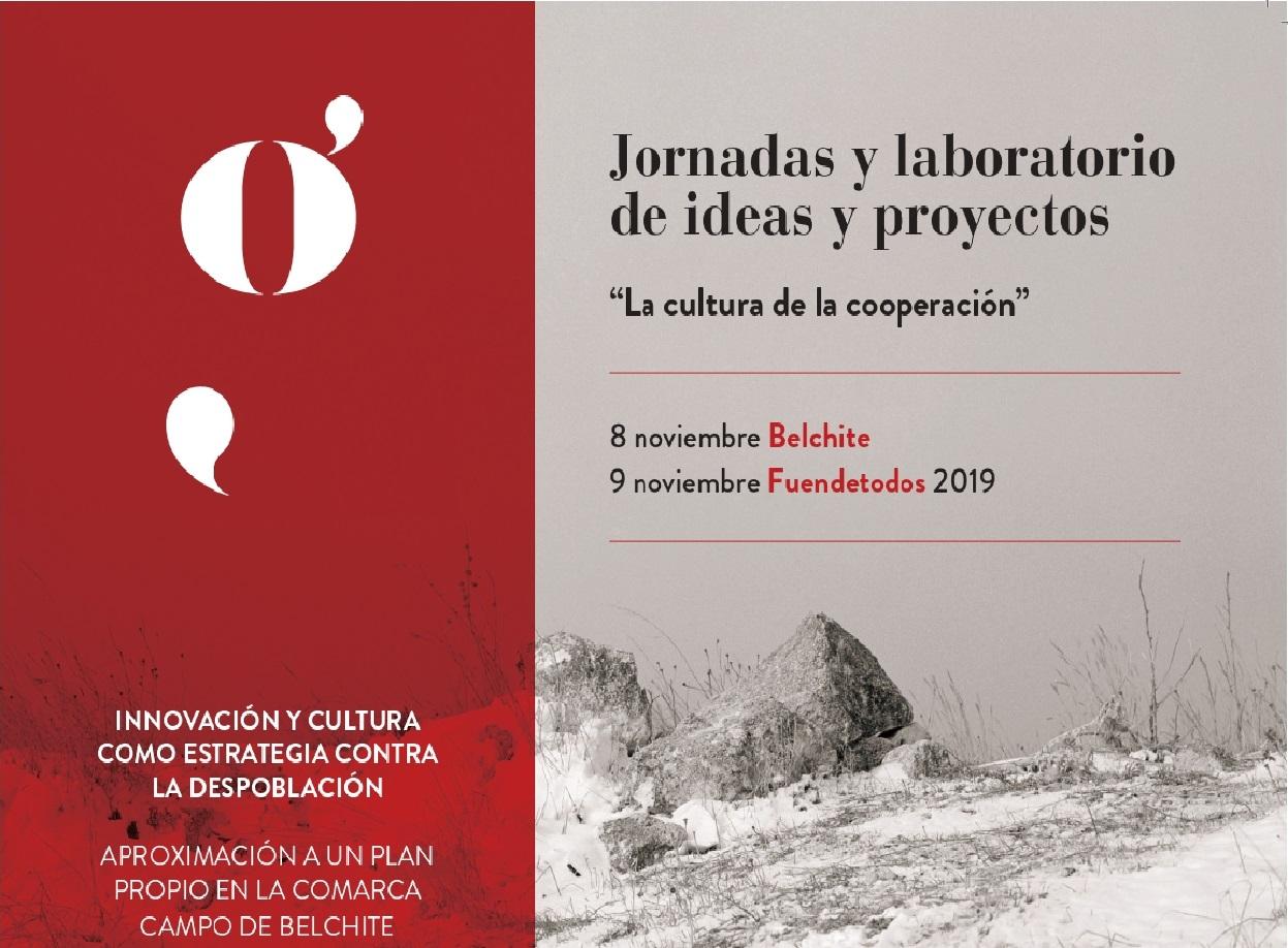 El Ayuntamiento de Belchite participa en unas jornadas sobre despoblación impulsadas por Territorio Goya