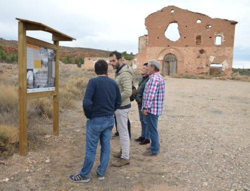 """Belchite, presente en FITUR 2020 con la iniciativa """"Huellas de la guerra civil"""""""