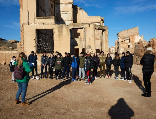 EducaBelchite: visitas escolares al Pueblo Viejo para conocer la historia a través de las emociones, la empatía y la resolución de conflictos