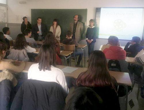 Los escolares de Belchite aprenden a hacer cortometrajes