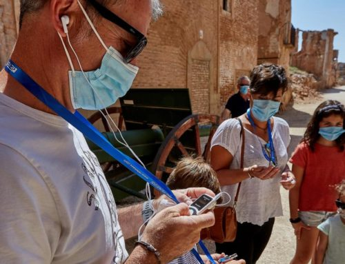 Belchite suspende las visitas turísticas al Pueblo Viejo hasta el 3 de noviembre