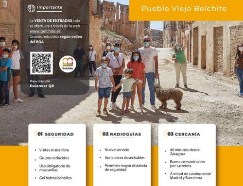 El Pueblo Viejo de Belchite recupera las visitas guiadas el 5 de marzo