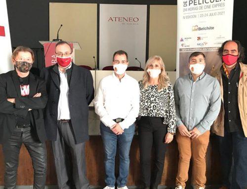"""El certamen de cortometrajes """"Belchite de Película / 24 horas de cine exprés"""" se presenta en Málaga"""