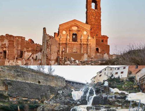 El Pueblo Viejo de Belchite y la presa romana de Almonacid de la Cuba podrán visitarse con una entrada combinada